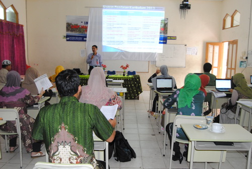 Workshop Implementasi Kurikulum 2013 SMP Islam Sabilal Muhtadin